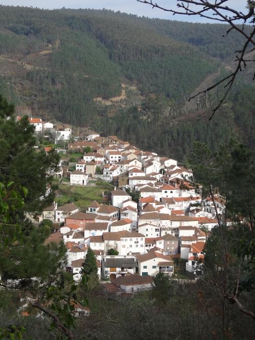 The village of Benfeita