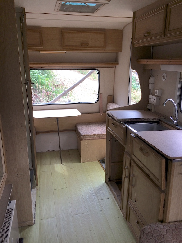 4-berth caravan at Quinta do Vale